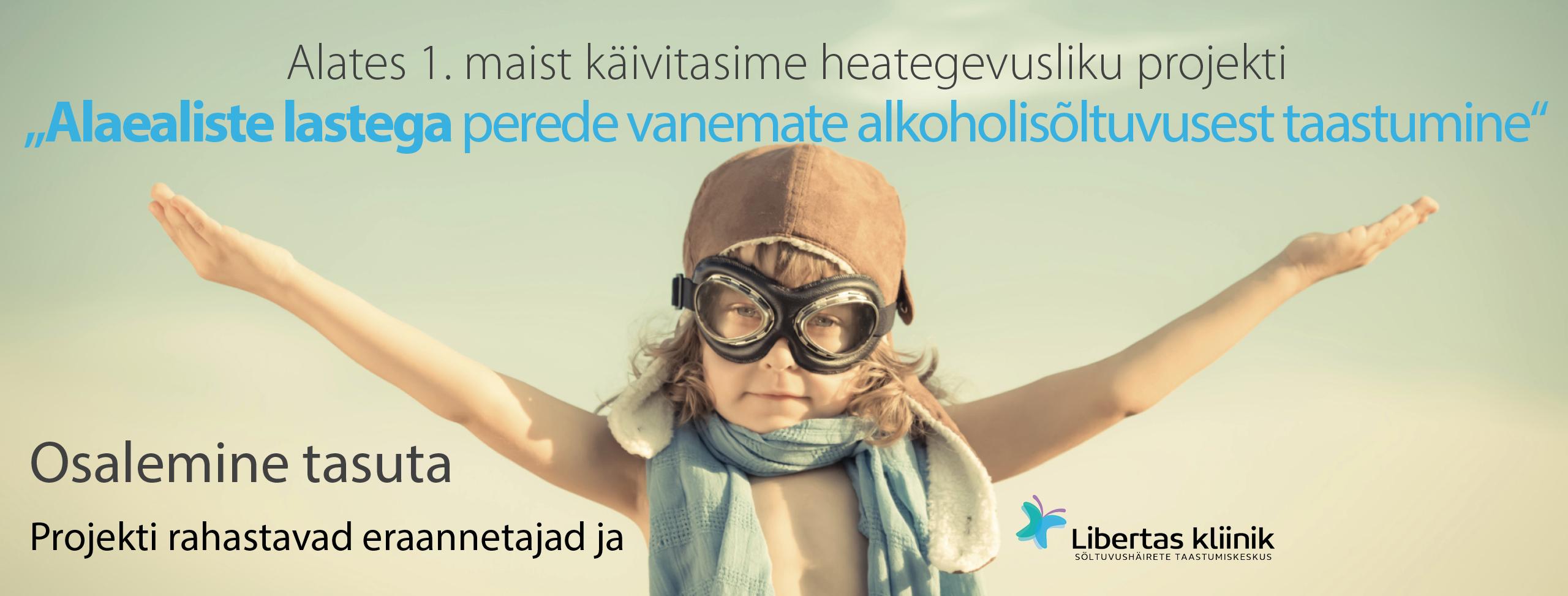 Alaealiste lastega perede vanemate alkoholisõltuvusest taastumine