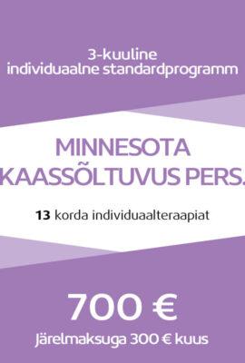 Kaassõltuvuse individuaalprogrammi maksumus